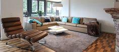 QUADRAT | Stilvolle Stadtvilla in Gelnhausen Sofas, Furniture, Home Decor, Armchair, Couches, Canapes, Interior Design, Home Interior Design, Loveseats