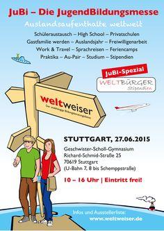 JugendBildungsmesse in #Stuttgart: 27. Juni 2015, Geschwister-Scholl-Gymnasium
