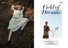 Field of Dreams webitorial for iMute Magazine  Photographer / Amy M. Phillips @ Eye Photography Model / Ashton Powers @ Next Models & Eye Mgmt Stylist / Tyler Minor Make up & Hair / Betsy Briggs-Cathcart @ Studio BBC Clothes / The Private Label & Eye Vintage