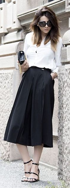 Black Culottes by Scent Of Obsession