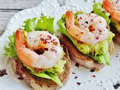 Spicy Prawn and Avocado Sandwich Recipe