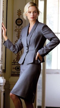 Classic Grey suit.                                                                                                                                                                                 More