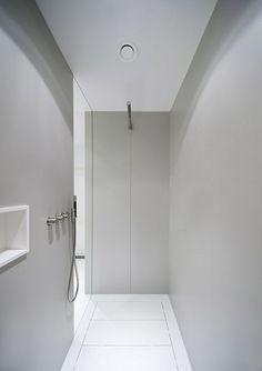 Licht grijs clean rustig in douches!