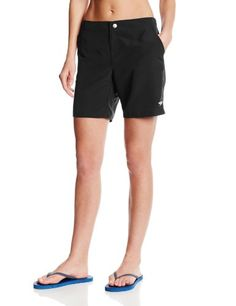 Speedo Women's Fitness Board Short Cover Up