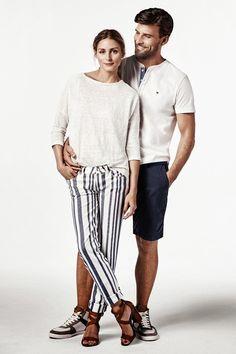 The Olivia Palermo Lookbook : Olivia Palermo and Johannes Huebl For Tommy Hilfig...