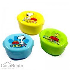 Récipients à sauce Snoopy Trio / Snoopy Trio Sauce Containers