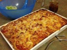 Zucchini and Bacon Slice recipe - Best Recipes Zucchini Pizza Bites, Zucchini Slice, Savoury Slice, Savoury Tarts, Savoury Recipes, Vegetarian Cooking, Cooking Recipes, Ham Sausage Recipe, Lasagne Dish