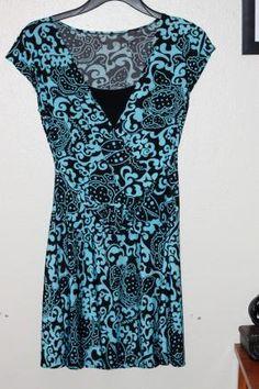 BLACK BLUE TOPS FOR WOMEN