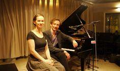 Hilary Hahn and Hauschka in the studio (Mooj Zadie) Female, Studio, Concert, Musicians, Classical Music, Concerts, Study