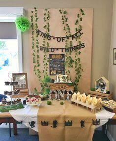 Where the Wild Things Are party by The Little Carousel (party planners)