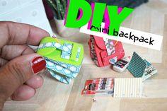 DIY Miniature Backpack