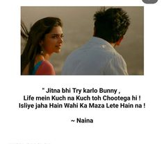 Yjhd Quotes, Shyari Quotes, Hindi Quotes On Life, Movie Quotes, Friendship Quotes, True Quotes, Words Quotes, Secret Love Quotes, Love Quotes For Him