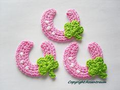 Aufnäher - Glücksbringer Hufeisen © - ein Designerstück von rosentraum bei DaWanda