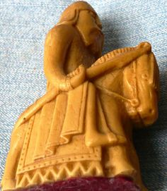 Vintage  Lewis Chessmen  Replica  Single Chess by ShopHereVintage