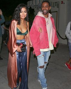 Best Celebrity Couple Style: Big Sean and Jhené Aiko Big Sean And Jhene, Night Outfits, Fashion Outfits, New Years Dress, Jhene Aiko, Fashion Couple, Denim Outfit, Petite Fashion, Fashion Addict
