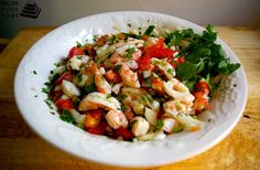 Belizean Shrimp Ceviche? Yes!