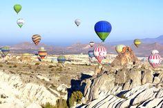 Cappadocië  #Cappadocie #Ballonvaart