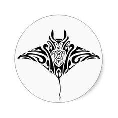 Polynesian Tattoos Stickers, Polynesian Tattoos Sticker Designs