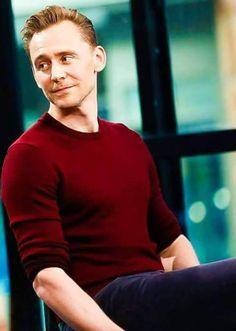 Tom Hiddleston in that maroon shirt. Ugh. ❤❤❤