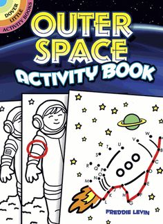 Junior astronauts can blast off for adventure with 39 activities, ranging from word games to connect the dots. Kids can count flying saucers, guide a shuttle back to earth, spot the differences between astronauts, and more.