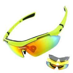 BASECAMP Polarized Cycling Glasses 3 Lens Men Women Bike Goggles Sunglasses Riding Outdoor Sports Fishing Running Eyewear K5302