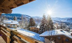 Chalet Thanasis in Megève, France #chalet #megeve #view #luxury