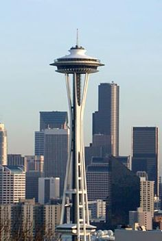 The Space Needle - built for the 1962 World's Fair, this is the quintessential landmark of Seattle, and just a great work of art and architecture.