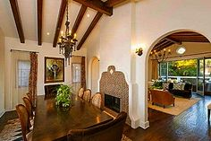 Classic old Spanish style interior.