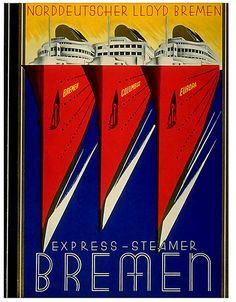 Bremen Lines designed by my great grandfather, Paul Biedermann.