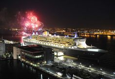 Queen Mary 2 in Liverpool  ....♥♥....  for 3 Queen Cunard Celebrations - May 2015