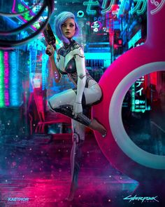 Alley – Digital Arts & by Source by LatexRabbit Our Reader Score[Total: 0 Average: Related Schuh coisas que o clássico cyberpunk Neuromancer previu Cyberpunk 2077, Arte Cyberpunk, Cyberpunk Girl, Cyberpunk Aesthetic, Cyberpunk Fashion, Cyberpunk Tattoo, Cyberpunk Anime, Cyberpunk Clothes, Neon Aesthetic
