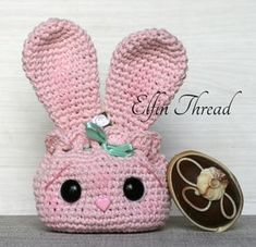 Easter Bunny Pouch (Free Pattern) | Elfin Thread