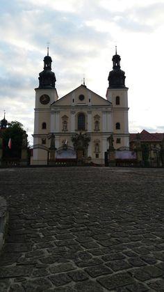 Widok na Kościół w Kalwarii Zebrzydowskiej.