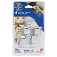 Find Perma Child Safety Concealed Magnetic Locks with Key - 4 Pack at Bunnings Warehouse. Visit your local store for the widest range of building & hardware products.