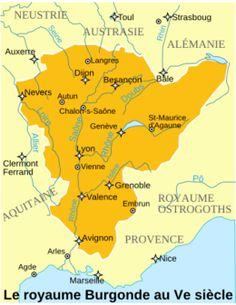 Le royaume Burgonde dans la 2° moitié du V°s. - clodomir. 3/ guerre contre les burgondes 3.1 FAIDE DE CLOTILDE ET EXPANSION DU REGNUM FRANCORUM, 5: Sigismond fit alors marier SUAVEGOYHE, la fille qu'il avait eue de son 1° mariage, à THIERRY 1°, renouvelant l'alliance des Burgondes avec les Francs rhénans. Clotilde, estimant Sigismond indigne de régner, profita de l'événement pour pratiquer une faide et venge la mort de Chilperic II, de sa mère (et ses 2 frères ?).