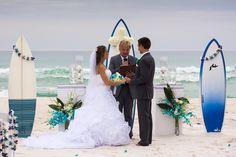 14 Avenida 500, Pensacola Beach  Beach Wedding by www.CoastalSoirees.com