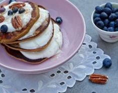 Oppskrift på nydelige lapper fra Berit Nordstrand. Kos, Clean Eating Recipes, Gluten Free, Breakfast, Desserts, Morning Coffee, Glutenfree, Deserts, Dessert