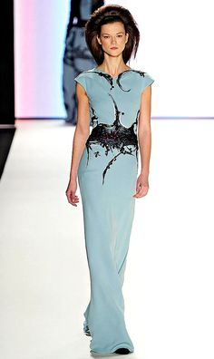 Carolina Herrera--this dress is so simple it's complicated and so complicated it's simple.