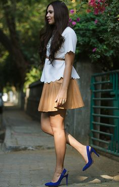 |Top| Asos| Skirt| Forever21| Shoes| Zara| Necklace| MissFlurrty| Rings| Aldo| Accessories| Daily Feature| Fashion| Blogger| Hair| Vintage| Spring|