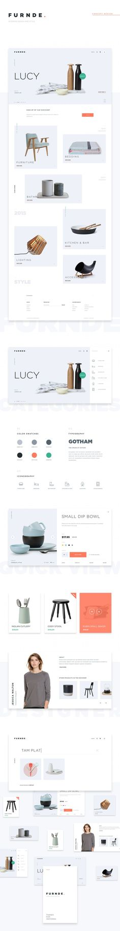 Diseño web - Inspiración y tendencia para el diseño y desarrollo de sitios web. Estilos minimalista-moderno. Diseño reponsive -adaptable a dispositivos móviles