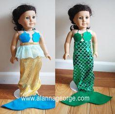 Doll Mermaid Costume