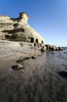 Playa de los Cocedores, boundary between San Juan de los Terreros, Pulpí, Almería, Andalusia  and Águilas, Region of Murcia (Spain)