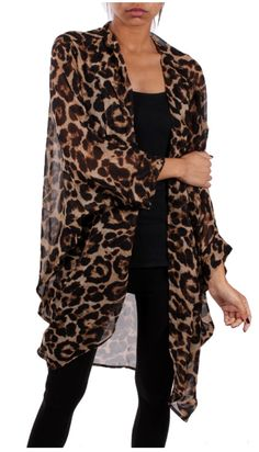 leaopard cardigan · Define Your Style Accessories · Online Store Powered by Storenvy Kimono Outfit, Kimono Fashion, Casual Outfits, Cute Outfits, Fashion Outfits, Leopard Print Outfits, Mode Kimono, Animal Print Fashion, African Fashion Dresses