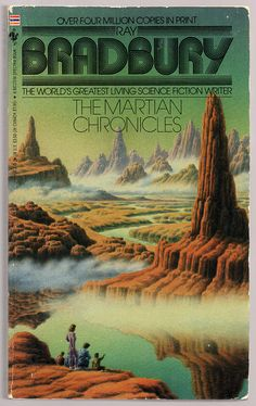 The Martian Chronicles (1990) by Book Covers: Mars Sci-Fi, Vintage Sexy Paperbacks, via Flickr