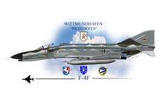 "F-4 Phantom II Profile - ""38+33"" Wittmundhafen ""Richtofen"""