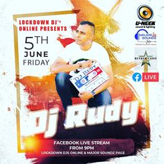 Major Soundz in conjunction with Lockdown DJ's Online and Bunker Cases brings you DJ Rudy Live at 9 PM tonight... Be sure to tune in  Streaming on the Major Soundz and Lockdown Dj's  Online Facebook Page. . . . #lockdown #lockdownparty #facebooklive #lockdowndj #openformat #dj #livedj