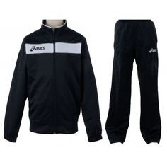 Melegítő Asics Suit Team 2 garnitúra fekete,fekete unisex Team 2, Asics, Adidas Jacket, Suit, Athletic, Unisex, Jackets, Fashion, Moda
