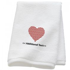 Why people prefer personalized towels especially in uk a valentinegift idea embroideredtowel personalized towel gifts to leave a lasting impression negle Images