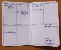 My Life All in One Place: Download and print a Monthly PlanPack in Field Notes size