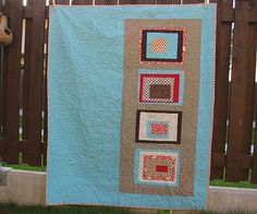 Birthday Give-Away Quilt - Front by you.